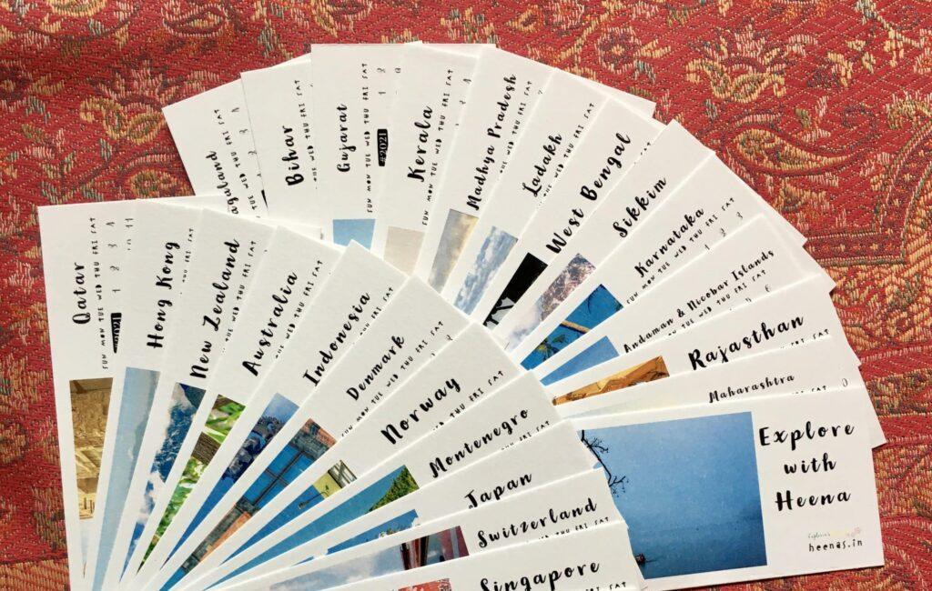 What is a Bookmark Calendar?