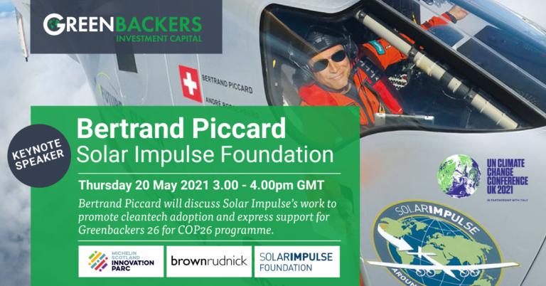 Bertrand Piccard Solar Impulse Foundation
