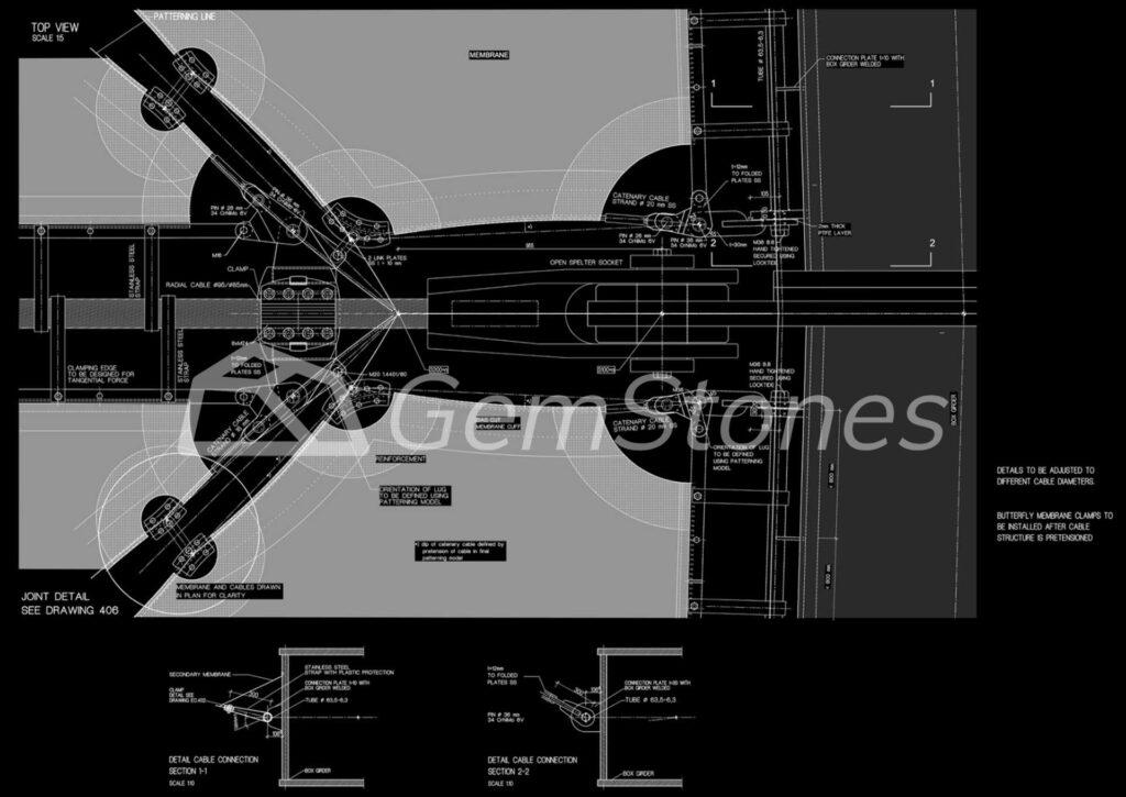 Ines Pedras GemStones architecture