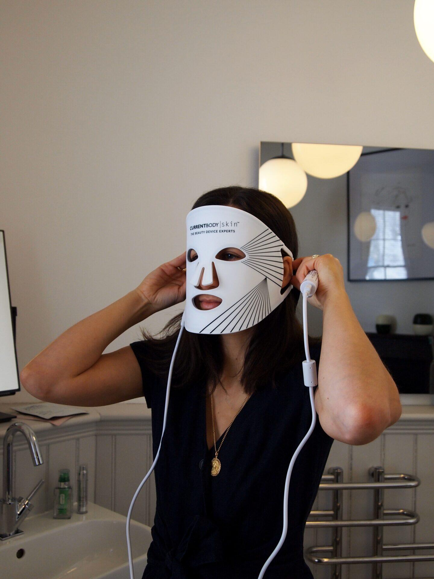 current body skin led lgiht therapy mask