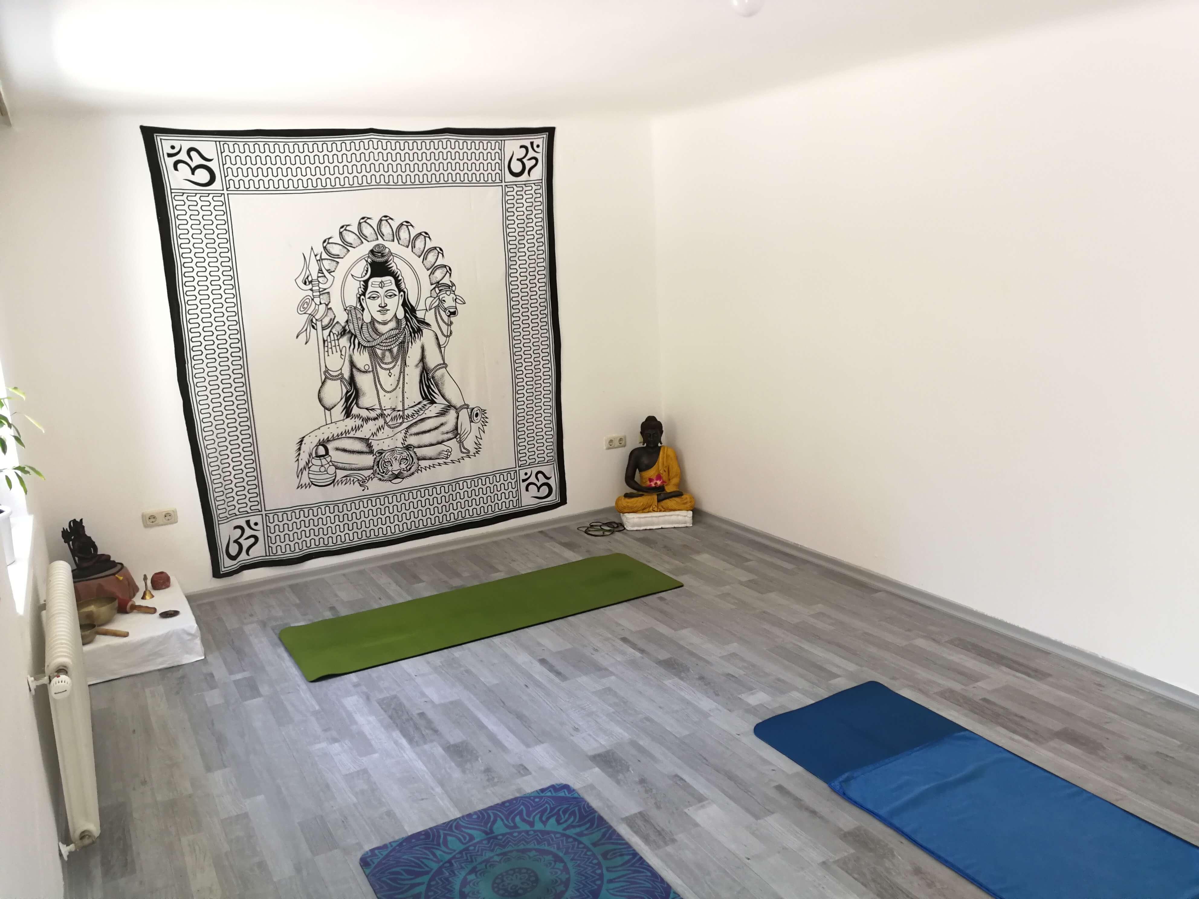 Kleiner Yogassal, 35m2