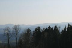 Ausblick-Bergen