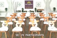 Seminarraum mit Bestuhlung (100)