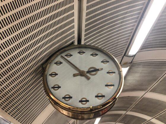 TfL clock
