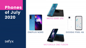 Mobile Phone launches of July 2020