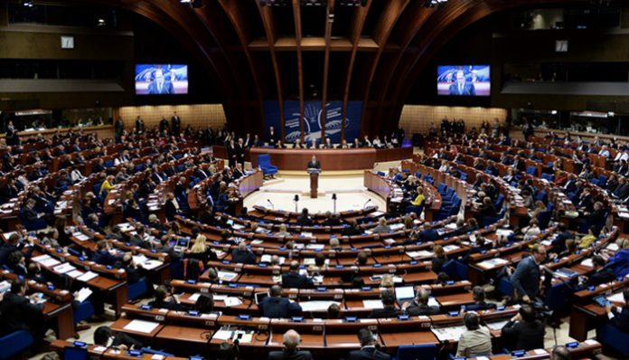 The Parliamentary Assembly of the Council of Europe (PACE) / AFP PHOTO / FREDERICK FLORIN
