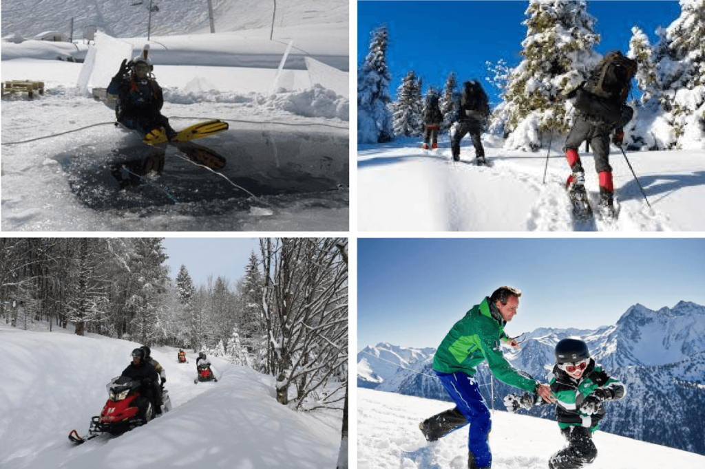 Descubre Saint Lary Actividades Nieve