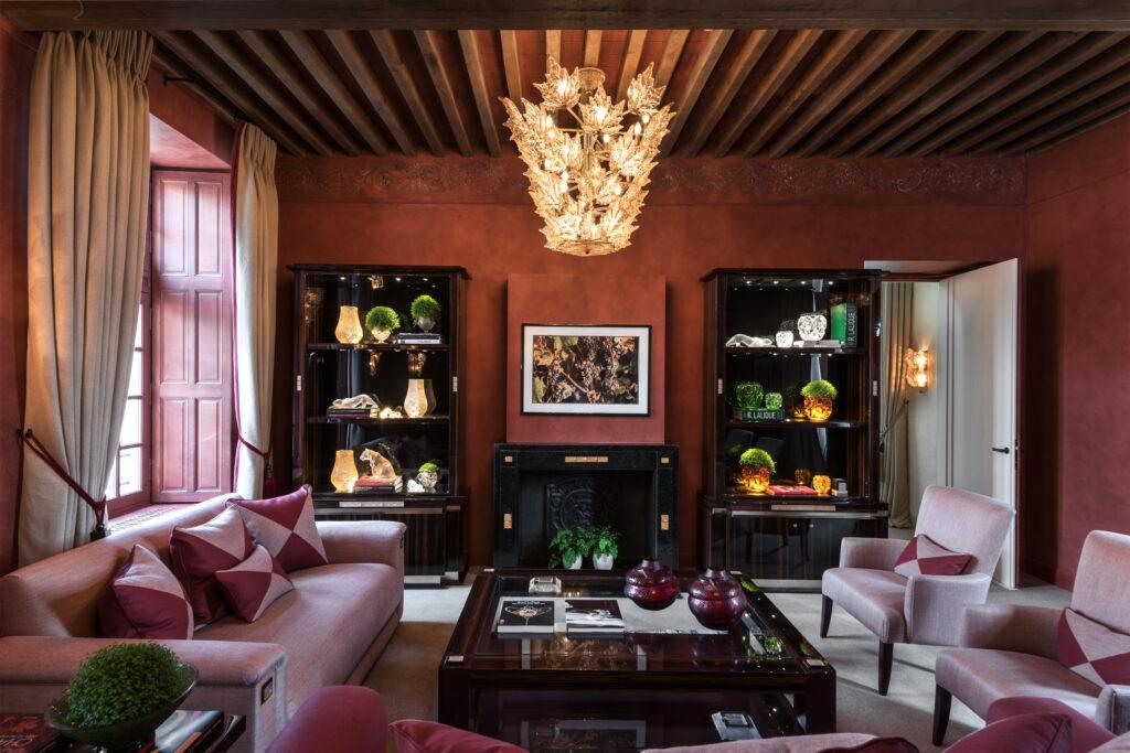 Bibliothèque-Hôtel-Restaurant-LALIQUE-Château-Lafaurie-Peyraguey-4428-©AgiSimoes-RetoGuntli
