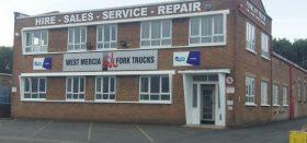 West Mercia Forklift head office in Oldbury
