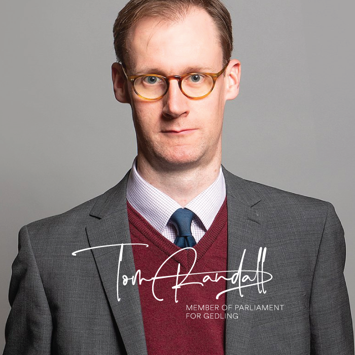 Tom Randall MP