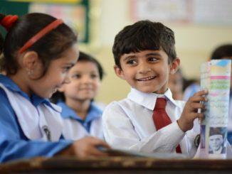 Children in Class, نظام تعلیم