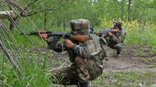 کشمیر میں گندی جنگ پر بحث