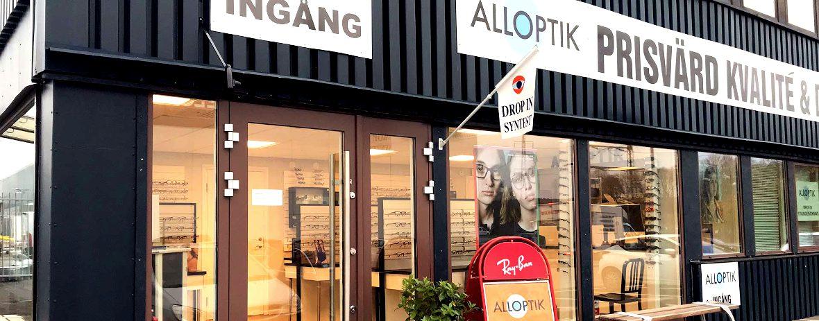 Hitta till oss på Alloptik Sisjön, Askim, Göteborg