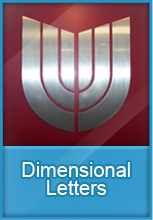 Dimensional signs