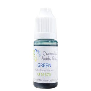 Green Water Based Liquid Dye