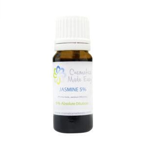Jasmine Absolute 5% Dilution (Vitis Vinifera, Jasminum Officinale) Oil