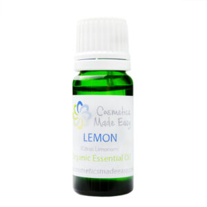 Organic Lemon (Citrus Limonum) Essential Oil