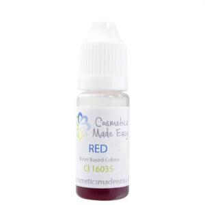 Red Water Based Liquid Dye
