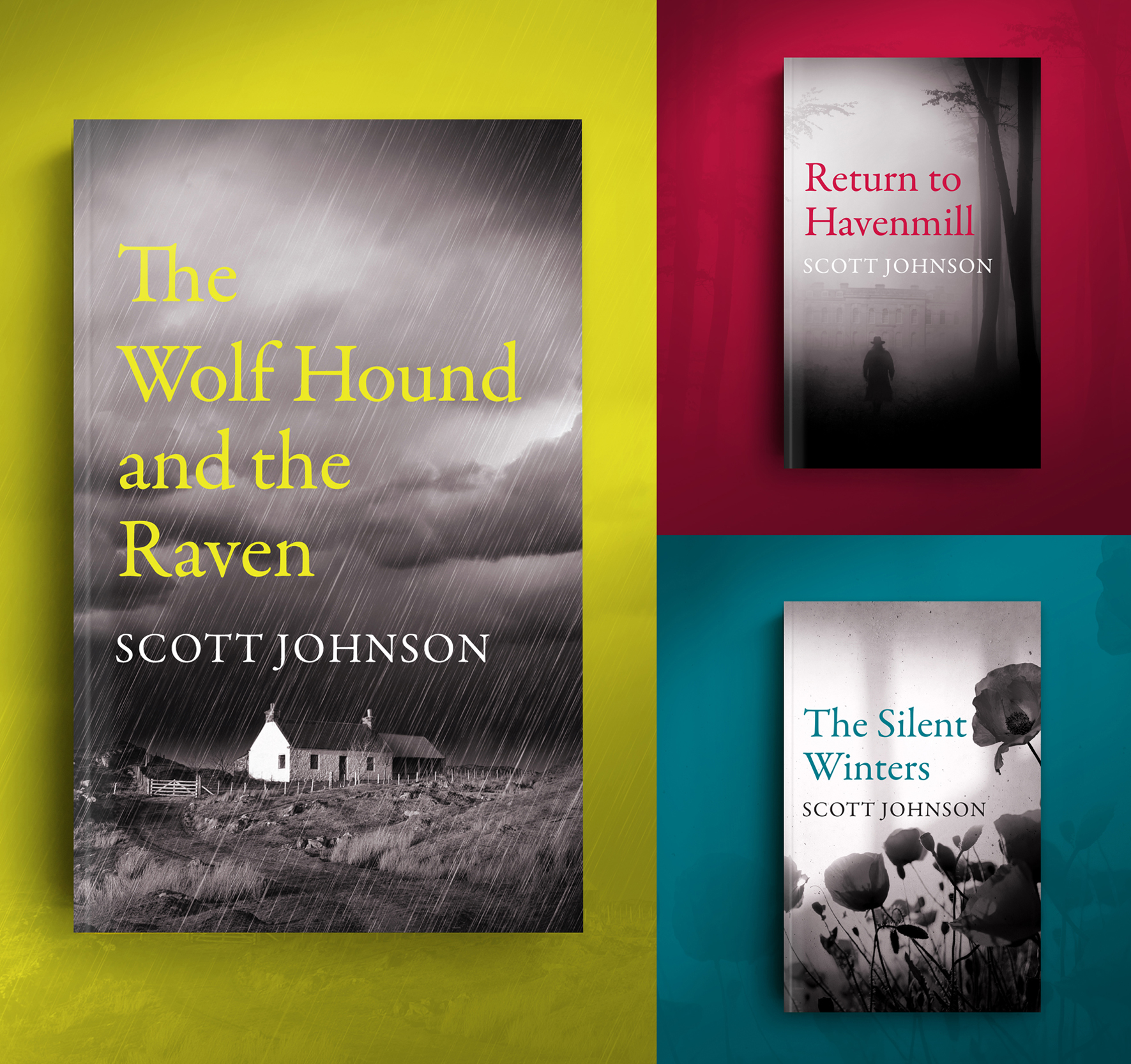 The Wolf Hound and the Raven paperback trilogy