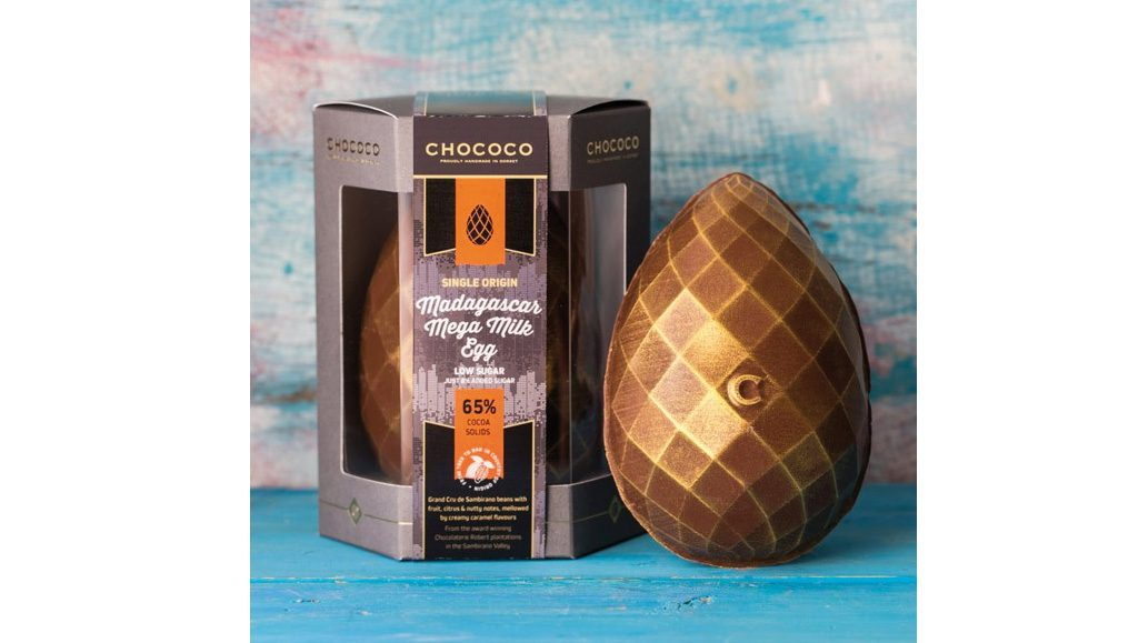 Chococo 65% Madagascar Mega Milk Easter Egg