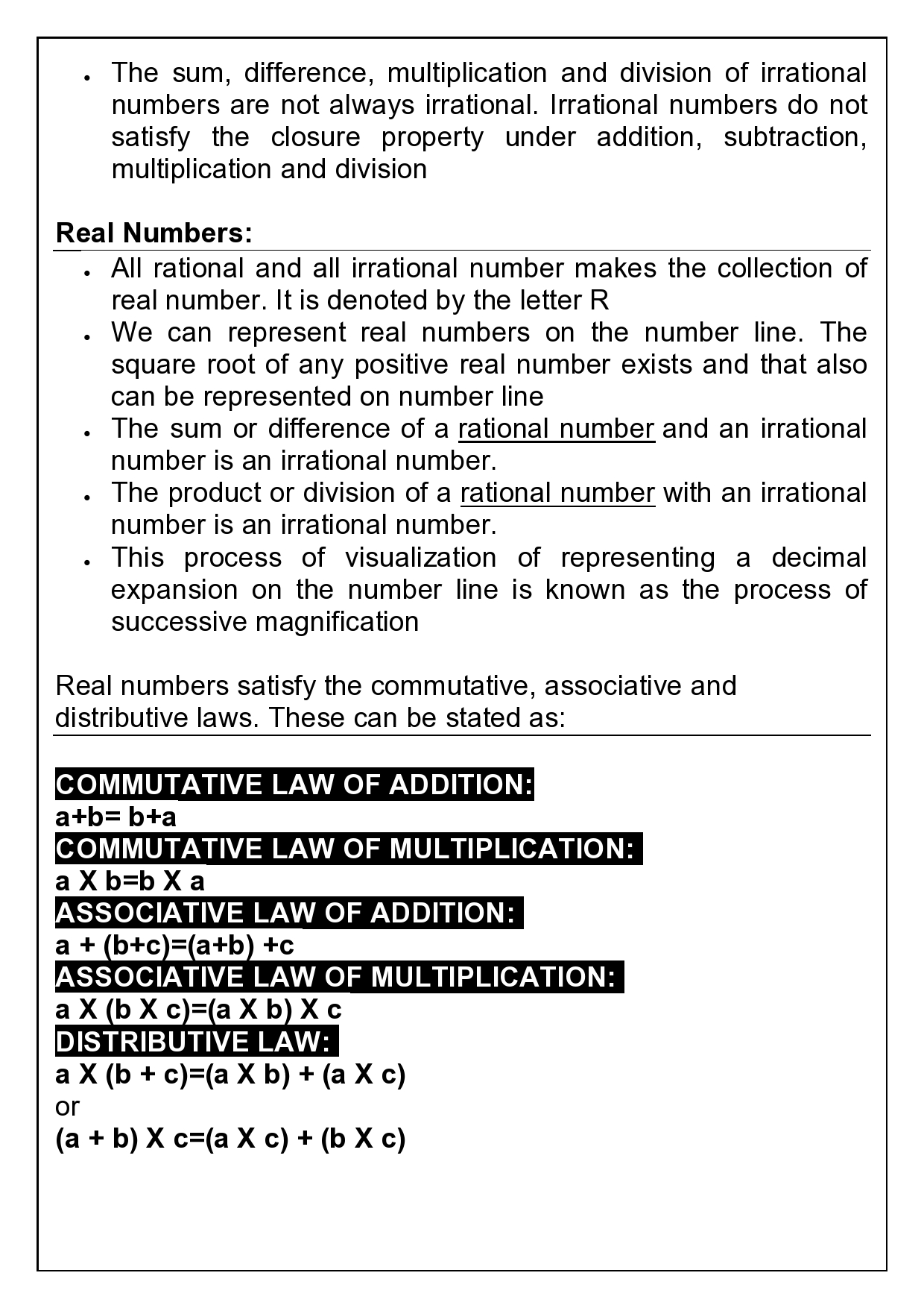 9th CBSE NUMBER SYSTEMS (3)