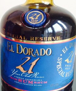 El Dorado 21 Year Old rum review by the fat rum pirate