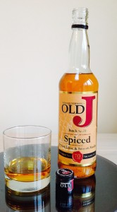 Admiral Vernon Old J Spiced Rum review by the fat rum pirate