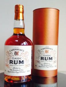 Cadenhead's Classic Rum Review by the fat rum pirate
