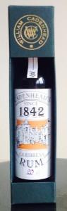 Cadenhead's 1842 Dark Rum review by the fat rum pirate