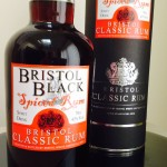 Bristol Black Spiced rum reviiew by the fat rum pirate