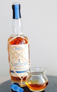 Plantation Nicaragua 2001 rum review by the fat rum pirate