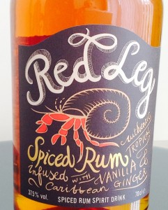 Red Leg Spiced Rum Review by the fat rum pirate