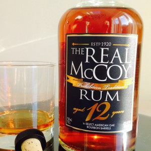 The Real McCoy 12 year old rum review by the fat rum pirate