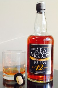 The Real McCoy Aged 12 Years Rum Review by the fat rum pirate