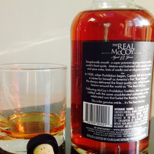 The Real McCoy 12 Year rum review by the fat rum pirate