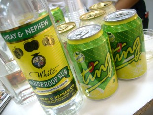 Wray and Nephew White Overproof Rum of the month fat rum pirate