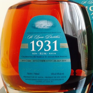 1931 3rd edition rum review by the fat rum pirate