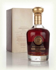 Diplomatico Ambassador rum review by the fat rum pirate