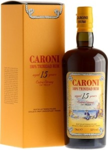 Caroni Aged 15 Years Rum Review by the fat rum pirate