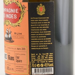 Compagnie des Indes Barbados Rum Review by the fat rum pirate