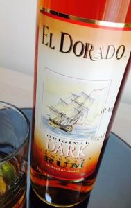 El Dorado Dark Superior Rum Review by the fat rum pirate