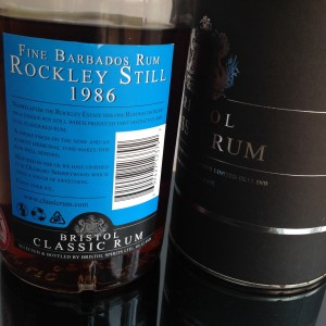 Bristol Rockley still rum review by the fat rum pirate
