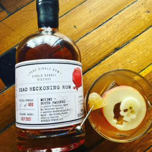 Dead Reckoning Rum Mutiny South Pacific Rum Review by the fat rum pirate
