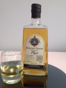 Duncan Taylor Jamaica Rum 15 Years Single Cask Long Pond 2000 review by the fat rum pirate