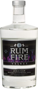 Rum Fire Velvet Jamaican White Overproof Rum review by the fat rum pirate