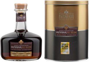 Rum & Cane Merchants Guyana XO Single Cask Rum review by the fat rum pirate