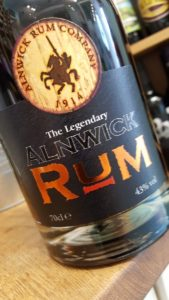 Alnwick Rum Review by the fat rum pirate