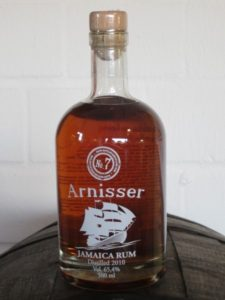 Arnisser No7 Jamaica Rum Worthy Park Review by the Fat Rum Pirate