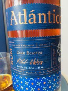 Atlantico Gran Reserva Rum Review by the fat rum pirat