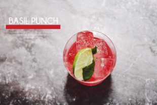 Hillery & Son Basil Punch rum review by the fat rum pirate